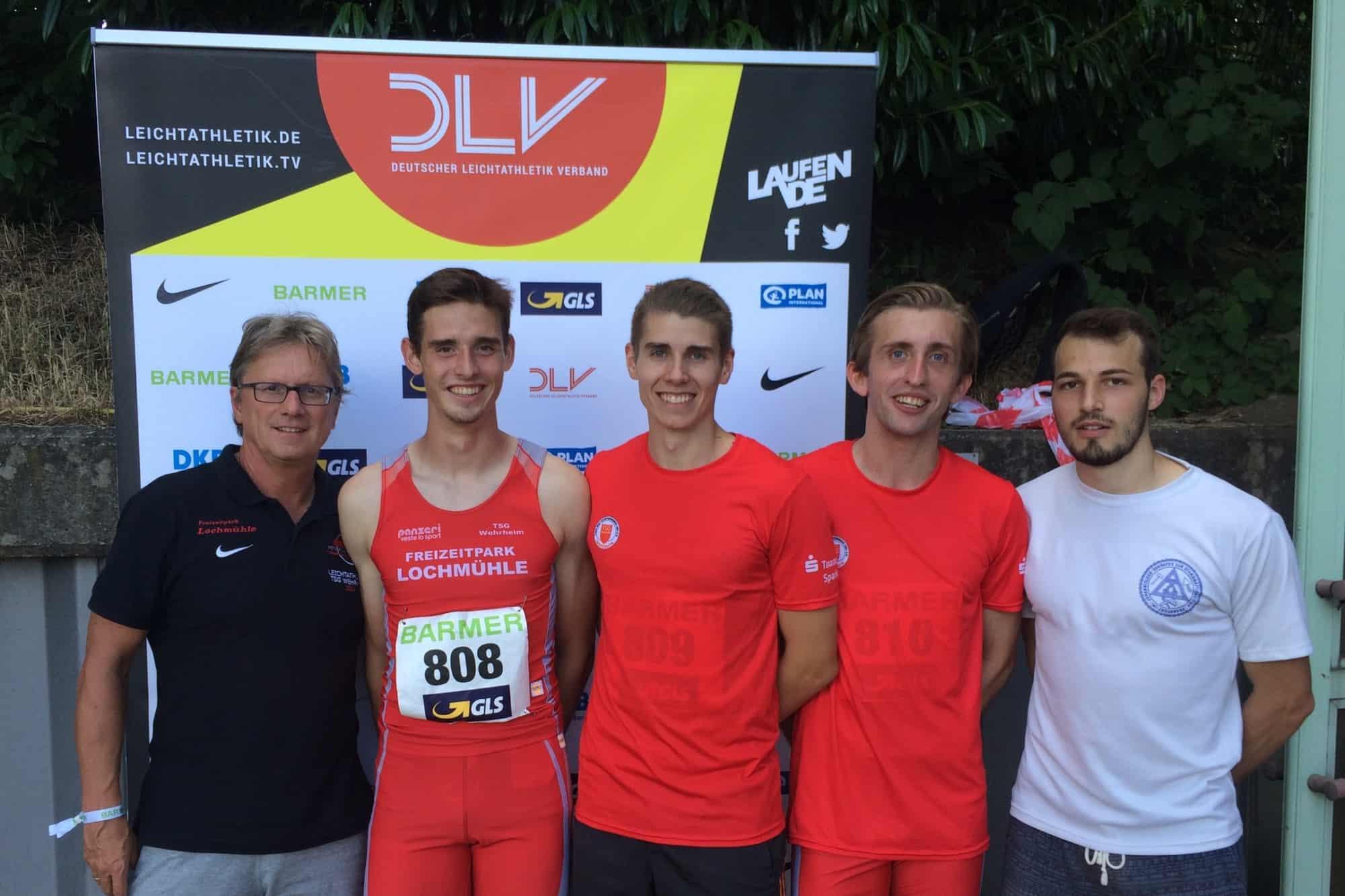 zuverlässiger Ruf kaufen hochwertige Materialien DM-Stars: Das Staffelquartett U23 - TSG Wehrheim Leichtathletik